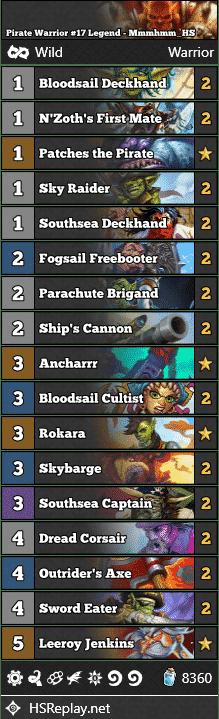 Pirate Warrior #17 Legend - Mmmhmm_HS