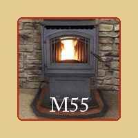 New for 2016 - M55 Pellet Stove by Enviro - Brochure