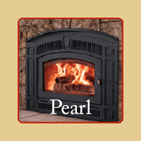 New for 2016 - Pearl Wood Burning Fireplace by RSF