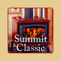 New for 2016 - Summit Classic Wood burning Stove by Pacific Energy