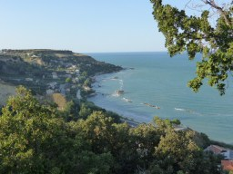 Looking down from San Giovanni in Venere, near Fossacesia