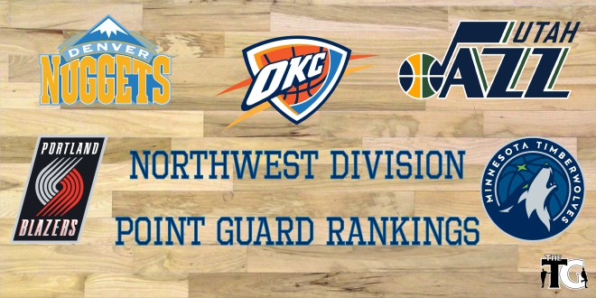 PG Rankings - NW Division