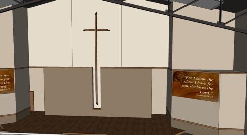 Worship Center Platform