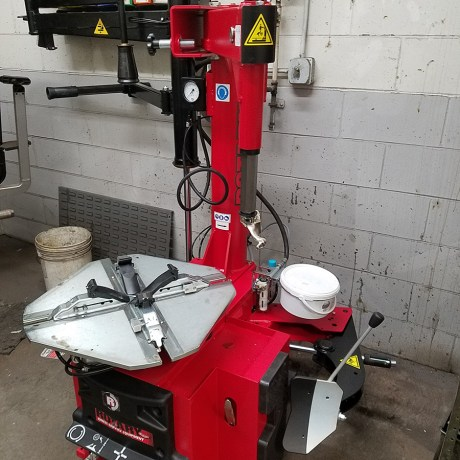 Rotary Tire Changer