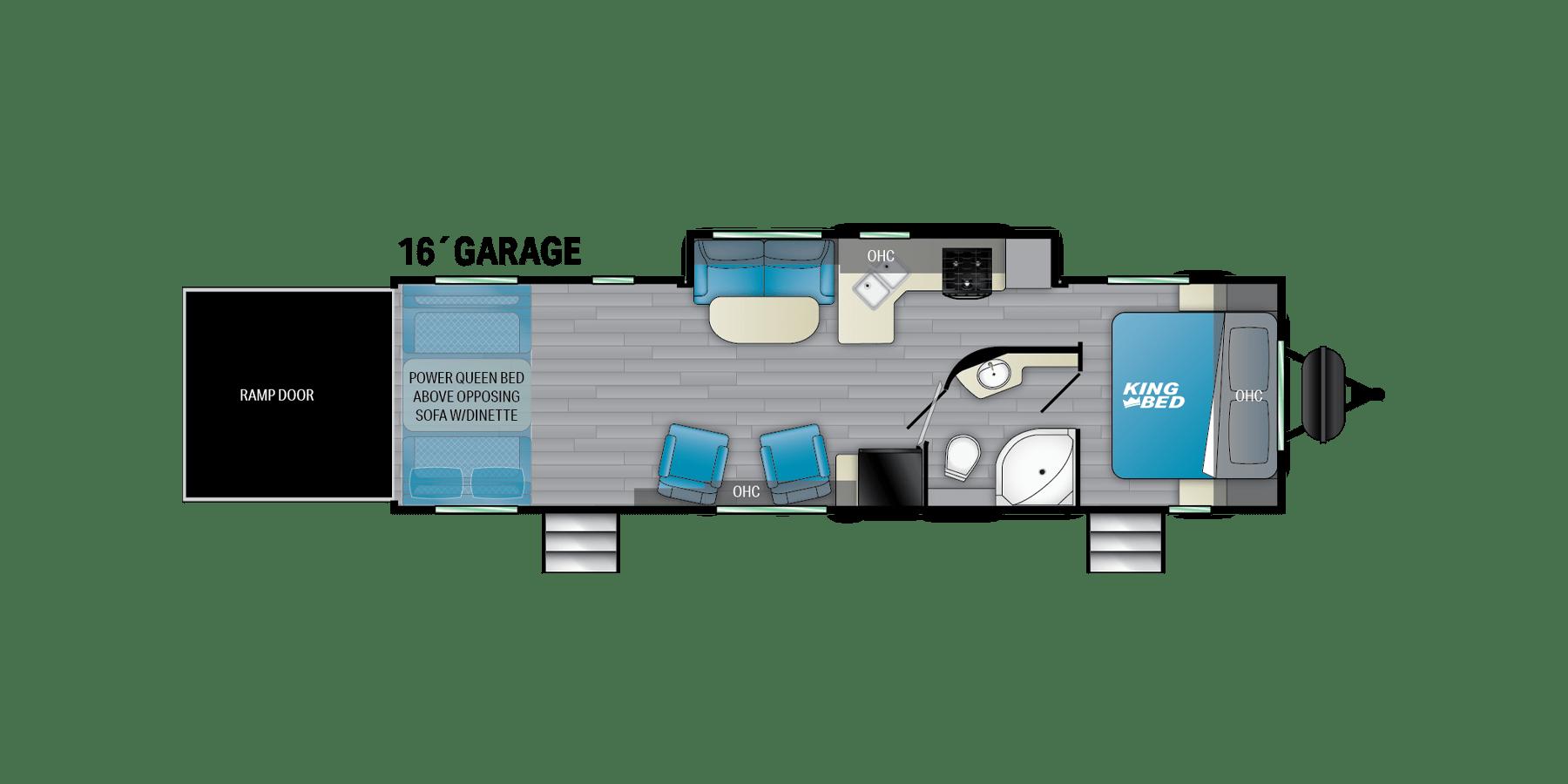 2022 Heartland Fuel 305 Interior Floorplan