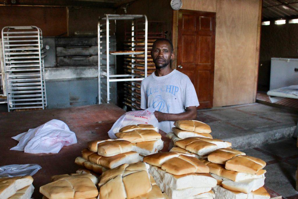Heartline Ministries Haiti Beltis Bakery Bread