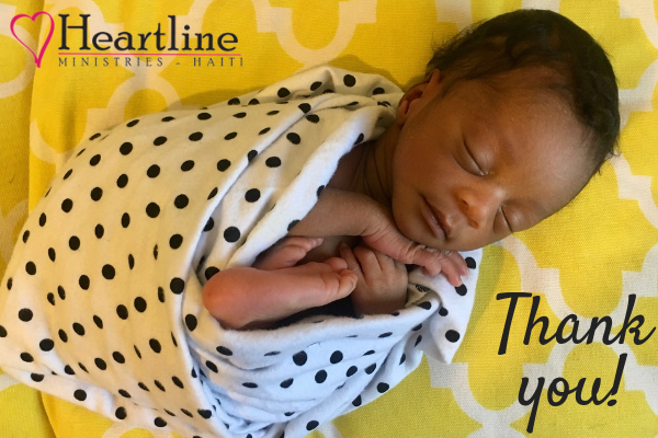 Thank you from Heartline Ministries