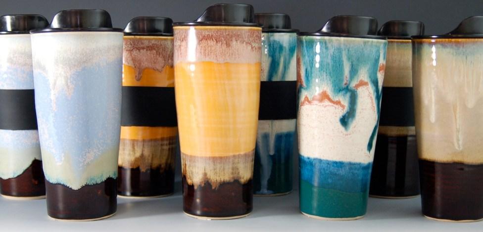Travel Mugs, Assorted Colors