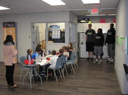 Snack Time with the Niagara River Lions
