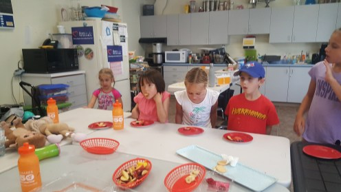 Camp is about healthy eating and fun