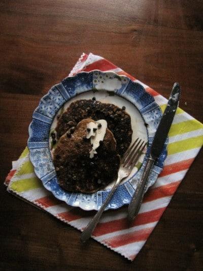 Pecan Chocolate Chip Pumpkin Pancakes