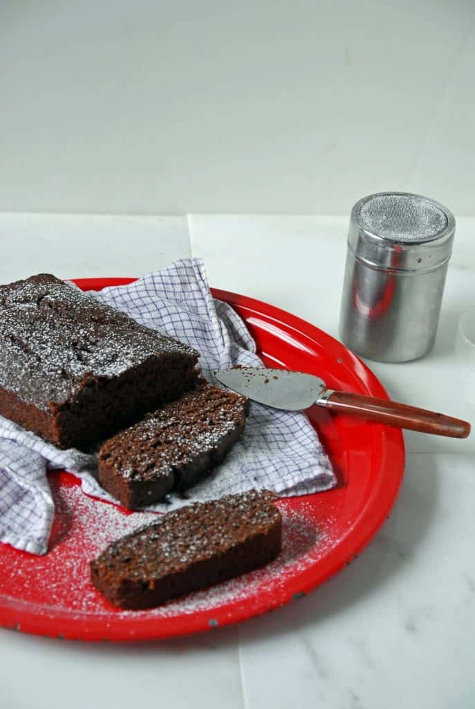 Chocolate Zucchini Bread /The Frosted Vegan