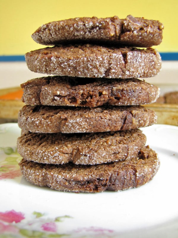 Vegan Icebox Cookies