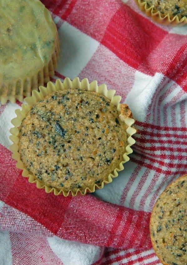 Mandarin Orange Dark Chocolate + Poppy Seed Muffins