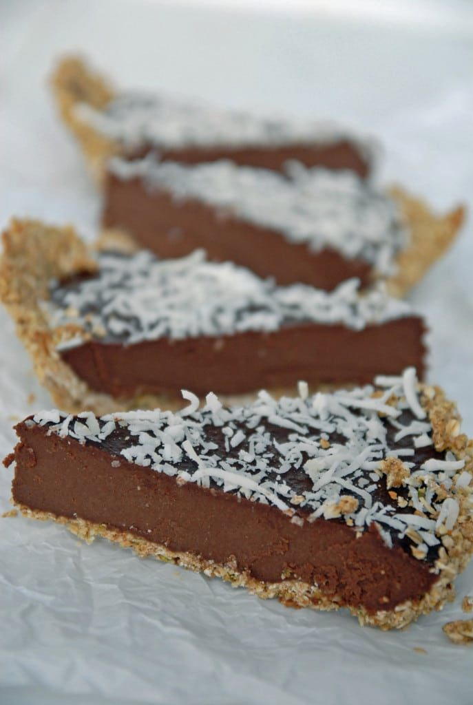 Chilled Chocolate Espresso Torte with Toasted Hazelnut Crust