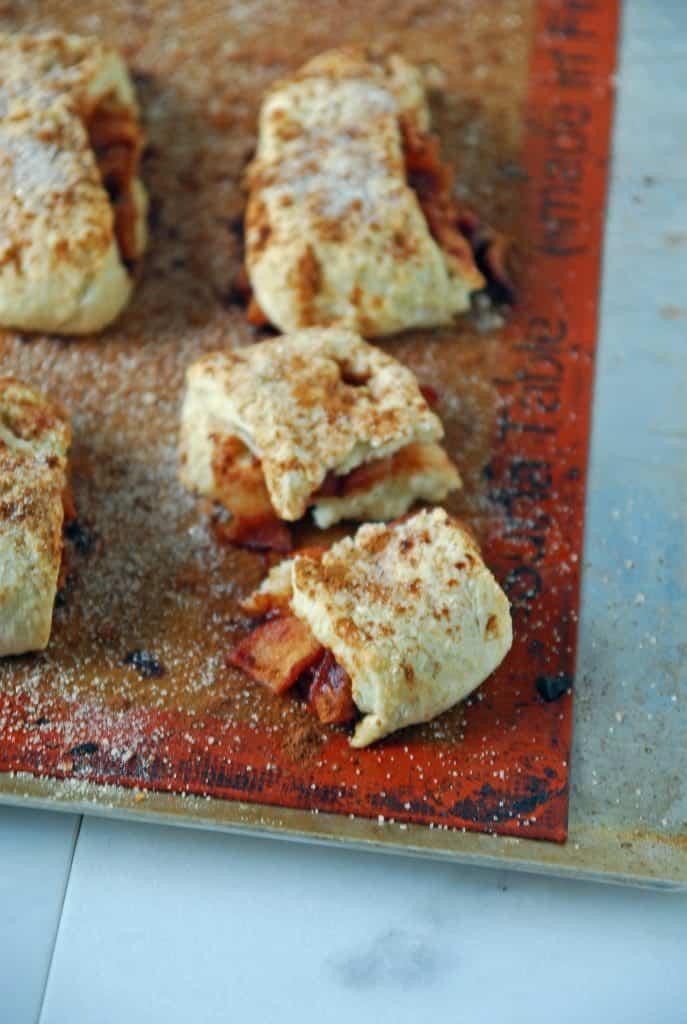 Vegan Apple Pie Biscuits