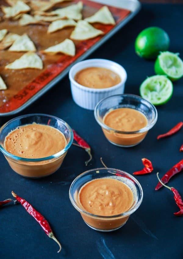 Creamy Arbol Chile Salsa//heartofabaker.com