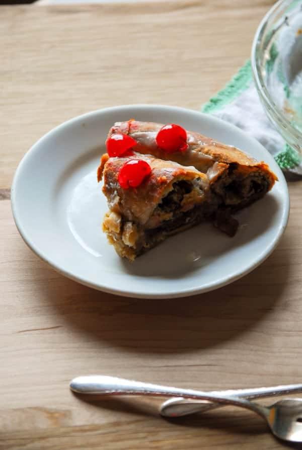 Swedish Coffee Cake slice