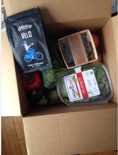 Door to Door Organics Review and Giveaway!//heartofabaker.com