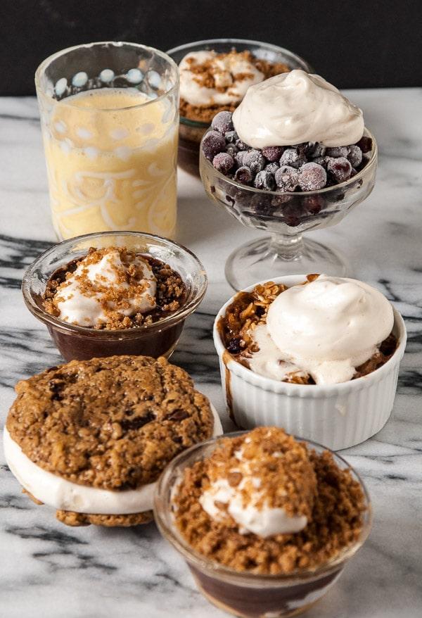vegan meringue desserts