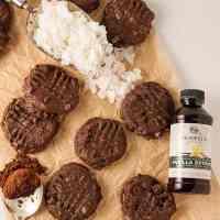 Chocolate Coconut Cashew Cookies