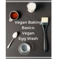 Vegan Baking Basics: Vegan Egg Wash