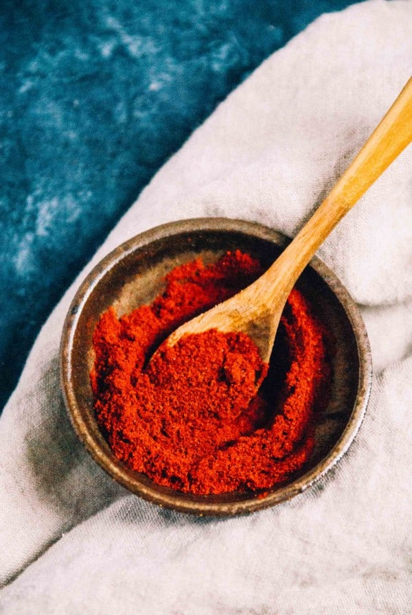 smoked paprika in a bowl
