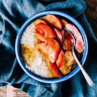 Roasted Stone Fruit Oatmeal