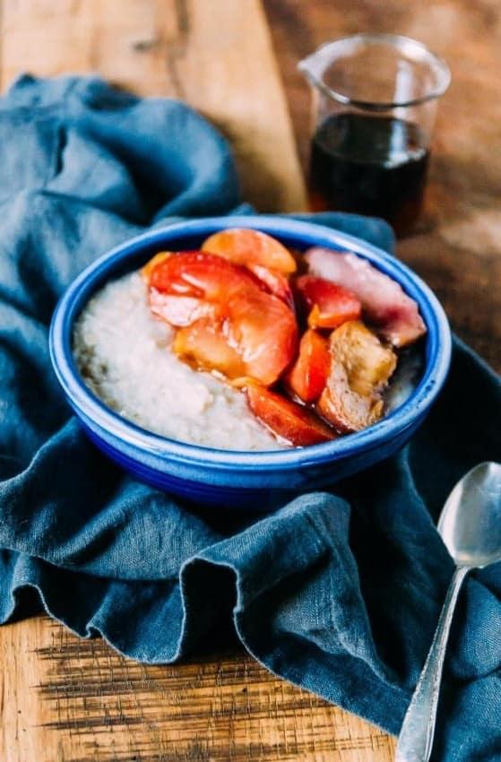 Roasted Stone Fruit Oatmeal