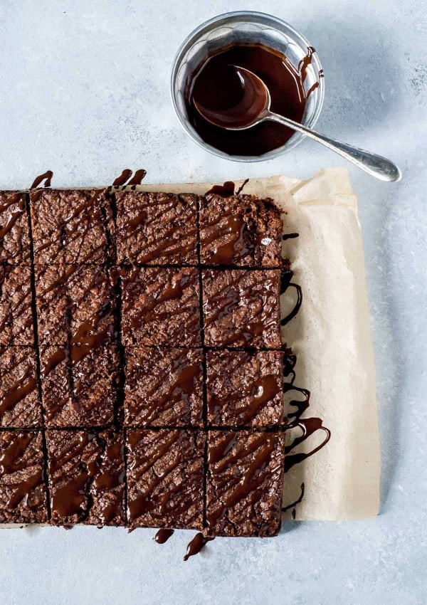Vegan Chocolate Shortbread