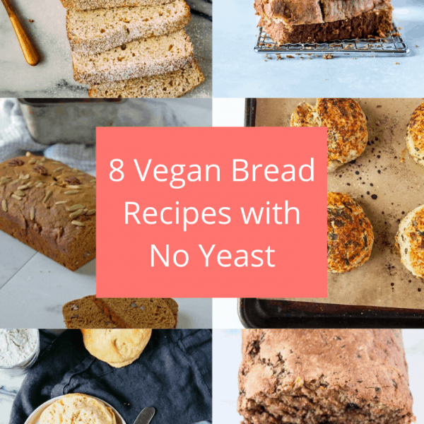 8 Vegan Bread Recipes with No Yeast