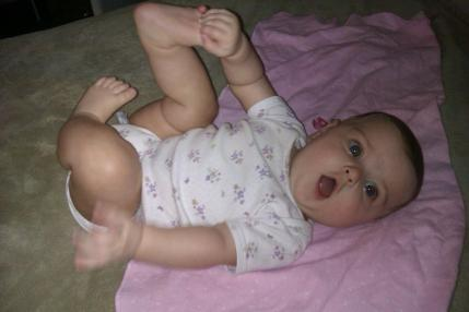 I can reach my toes!