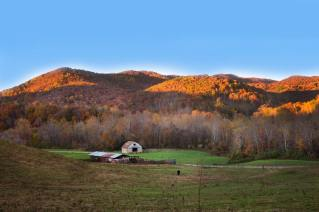 Fall in the mountains of Virginia