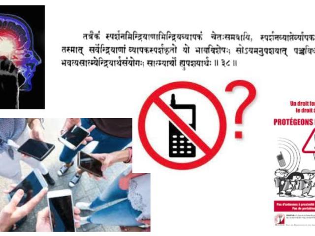 téléphones mobiles dangers usages ayurveda