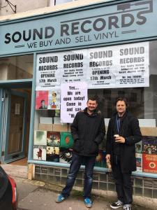 Tom and Sean of Sound Records