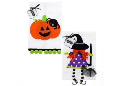 Halloween Towels for the Kitchen & Bathroom