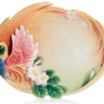 Beautiful Franz Porcelain Trays