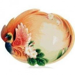 Franz Porcelain Trays