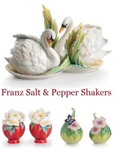 Franz Porcelain Salt & Pepper Shakers Sets