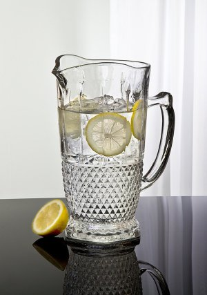 Crystal Pitchers for Serving Beverages