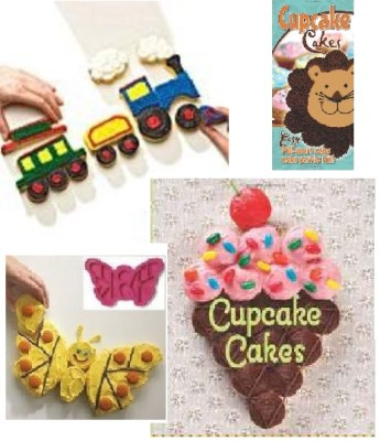 Pull Apart Cupcake Cakes Molds & Books