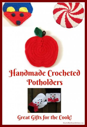 Handmade Crocheted Potholders Hot Pads