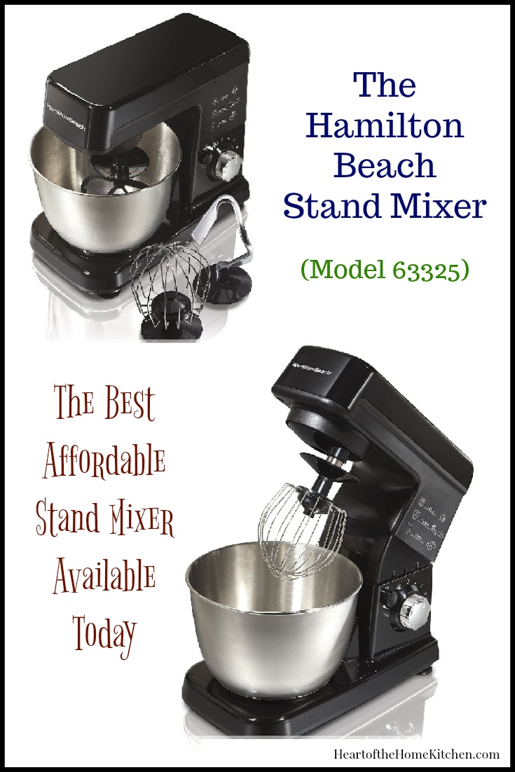 Hamilton Beach Stand Mixer - Best Affordable Stand Mixer