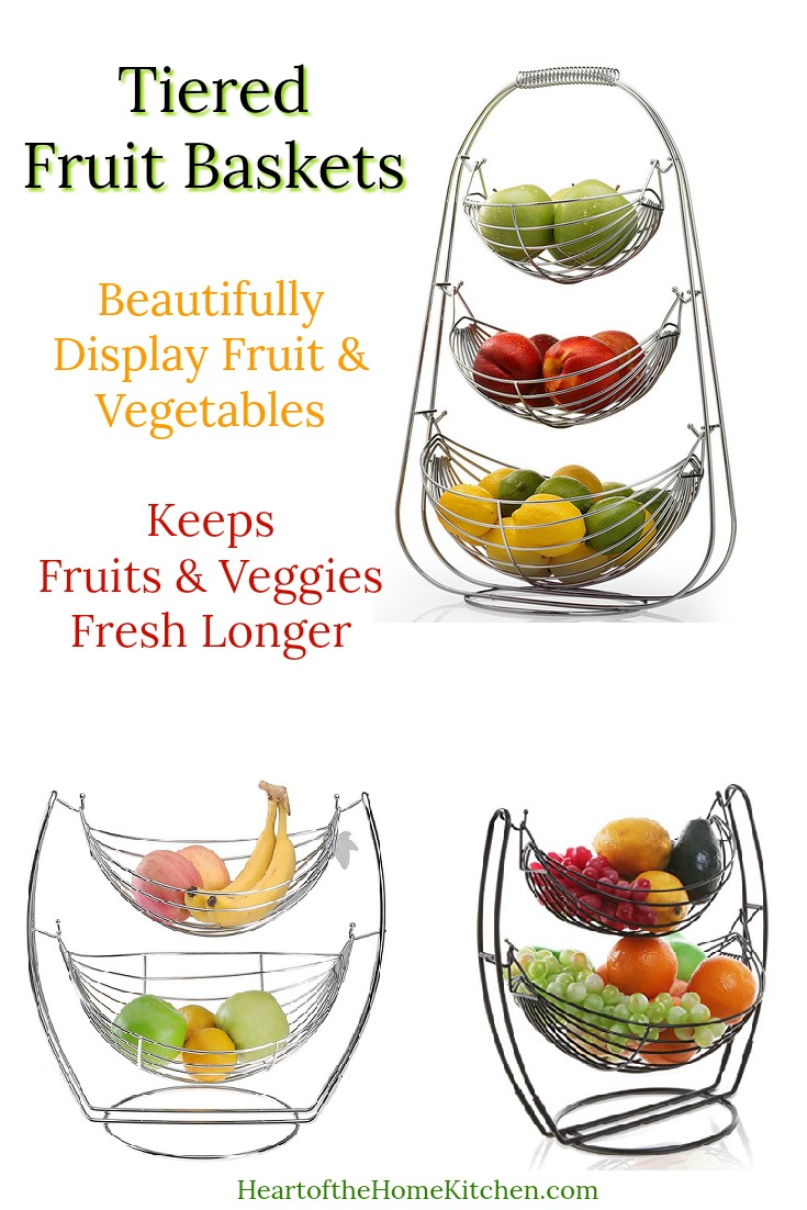 Tiered Fruit Bowls