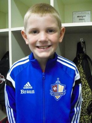 Donon in blue Braun jacket