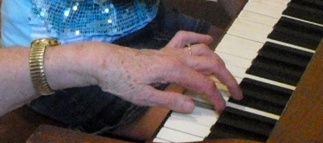 my-moms-hand-on-the-keyboard