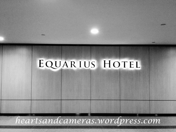 Check-in at Equarius Hotel