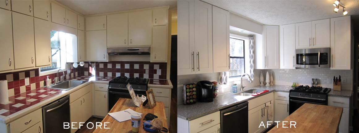 Another Home Reno Before And After Hearts And Sharts