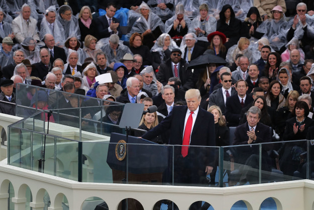 1. A bot didn't write Trump's inaugural address