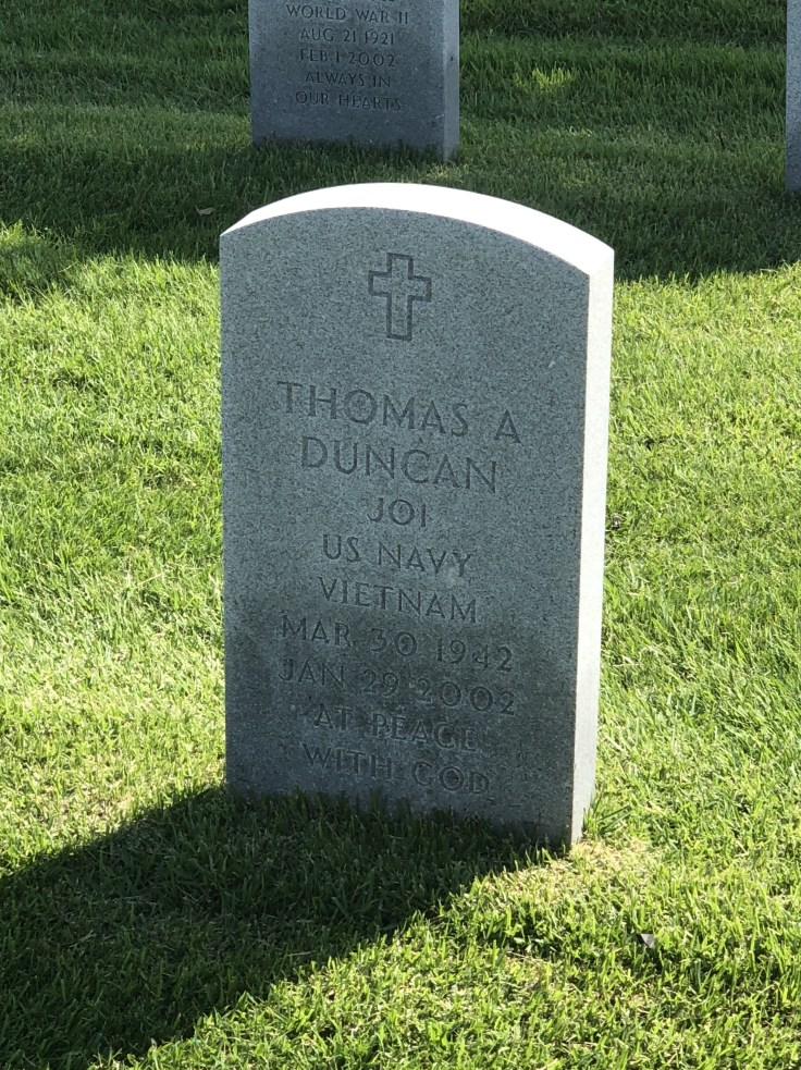 Honoring my father-in-law: Thomas Duncan